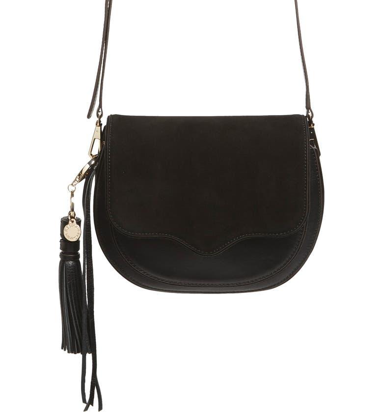 REBECCA MINKOFF Large Suki Crossbody Bag, Main, color, 001