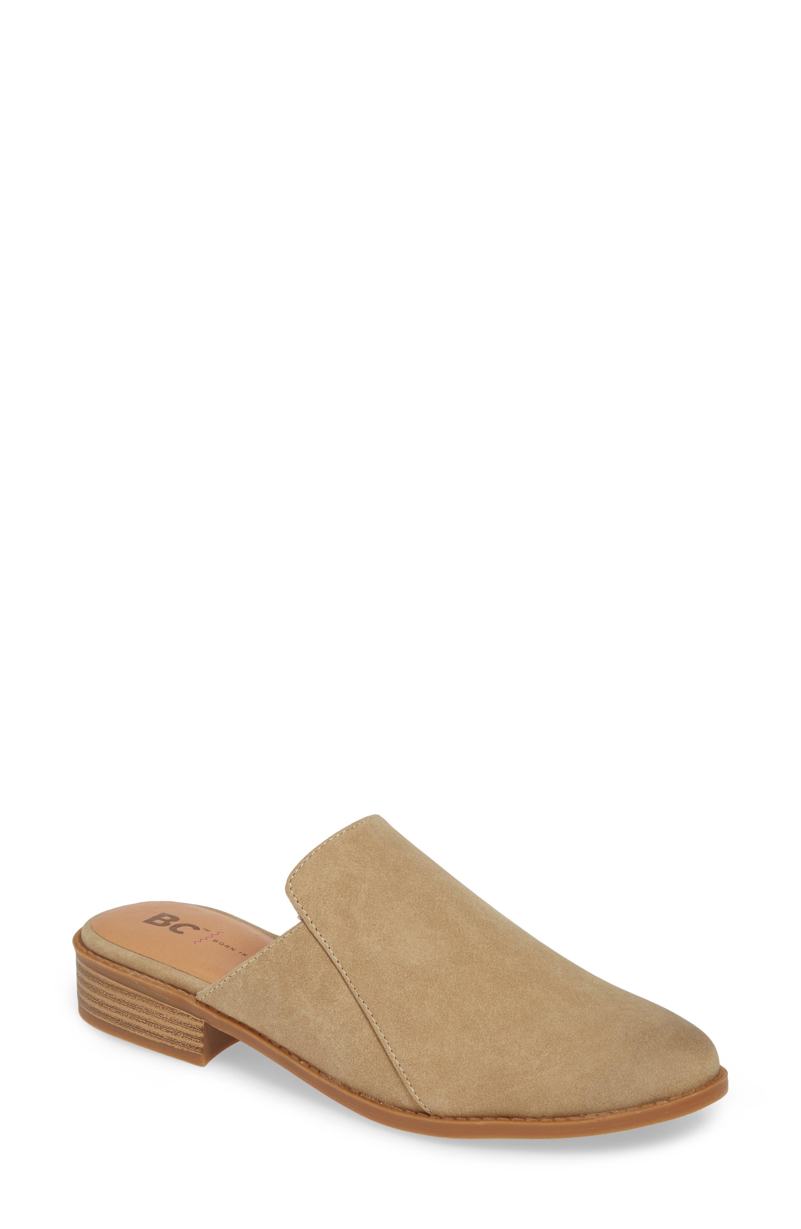 Bc Footwear Look At Me Vegan Mule, Brown