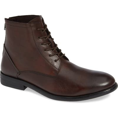 Kenneth Cole New York Chester Plain Toe Boot, Brown