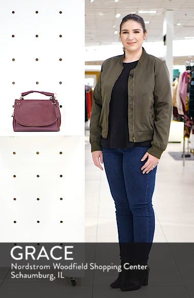 Rubie Faux Leather Crossbody Bag, sales video thumbnail