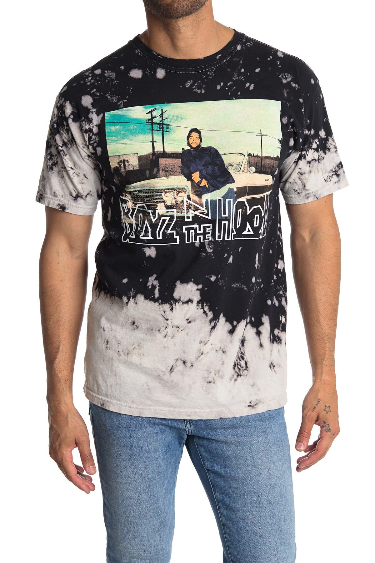 Image of Philcos Boyz n the Hood Car Lean Graphic T-Shirt