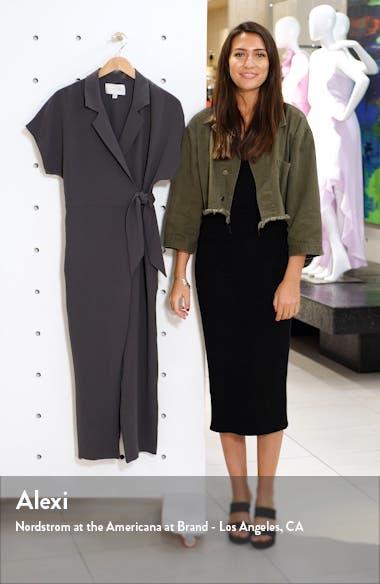 Sheyla Tie Waist Wrap Jumpsuit, sales video thumbnail
