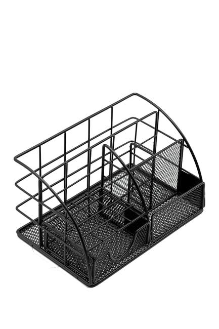 Image of Sorbus All-in-One Stylish Desk Organizer - Black