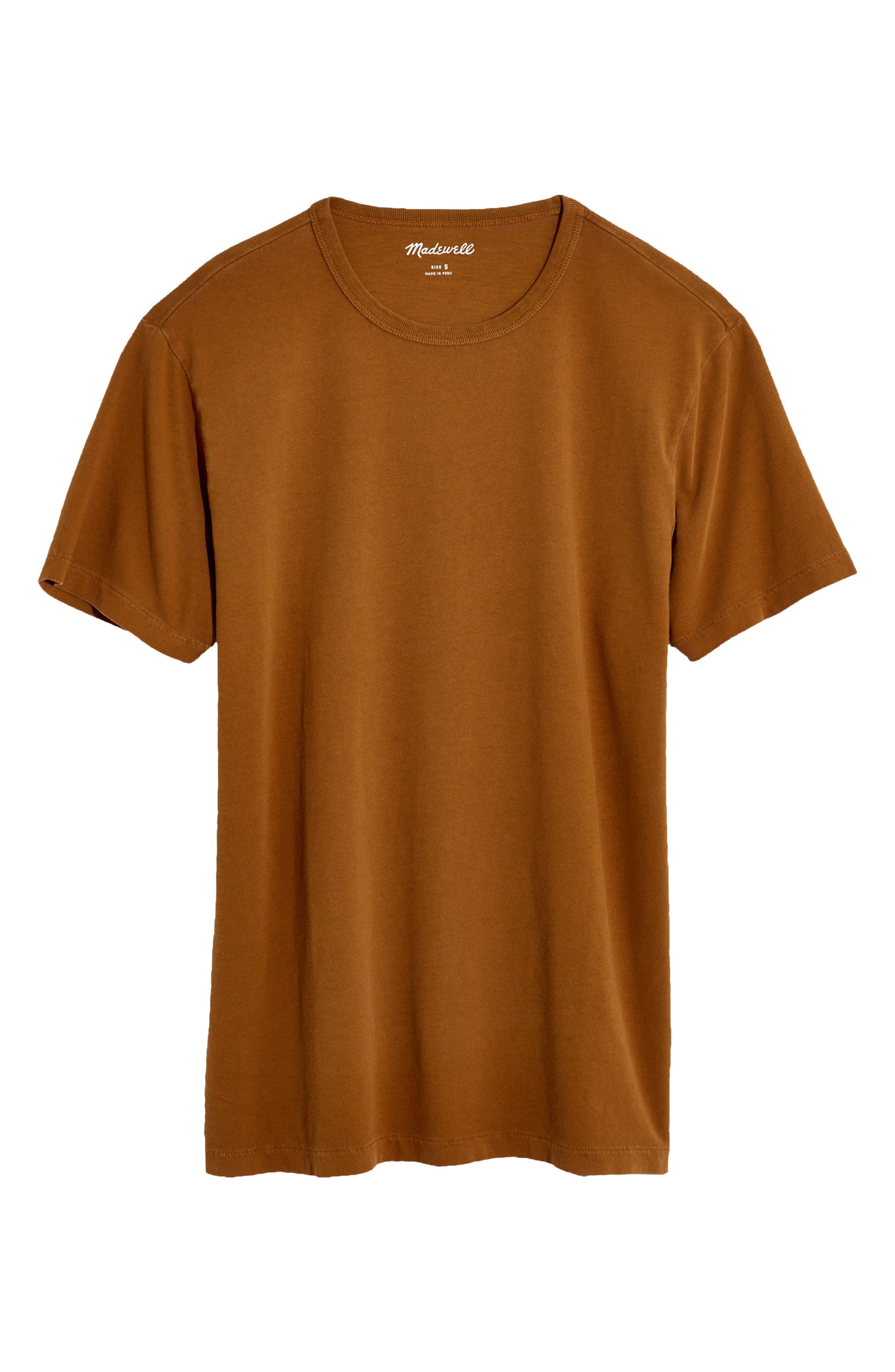 Garment Dyed Allday Crewneck T-Shirt