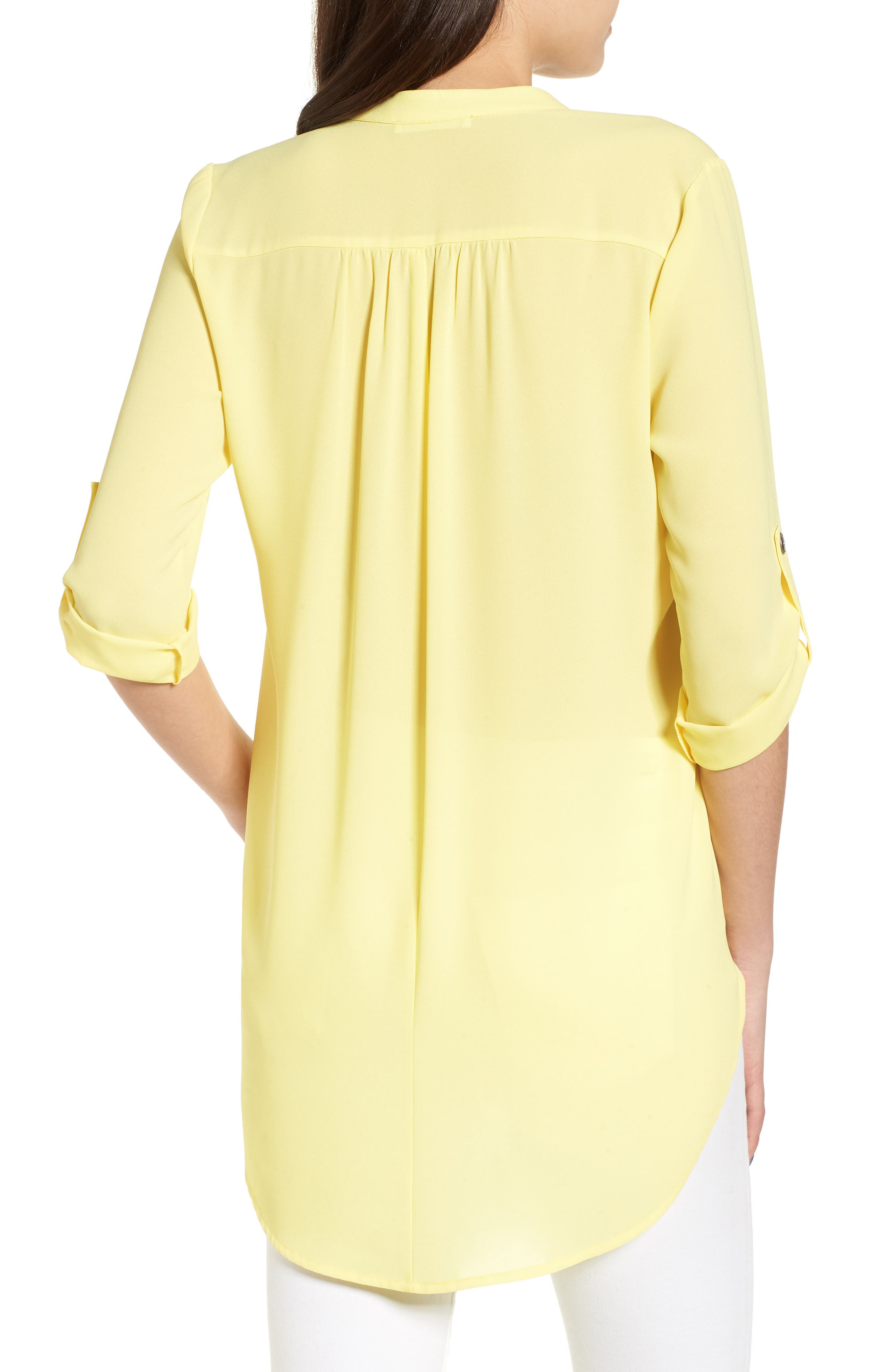 ,                             Perfect Roll Tab Sleeve Tunic,                             Alternate thumbnail 149, color,                             701