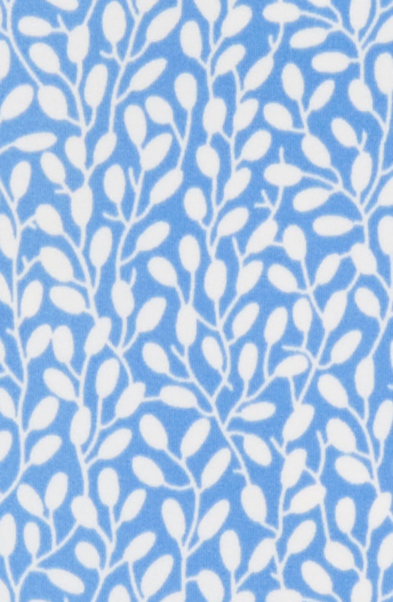 ,                             Flutter Back One-Piece Swimsuit,                             Alternate thumbnail 2, color,                             BLU LAKE BLUE BERRIES