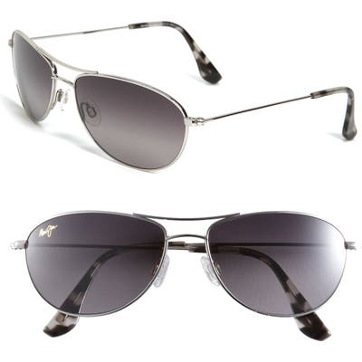 Maui Jim Baby Beach 5m Polarizedplus2 Aviator Sunglasses -