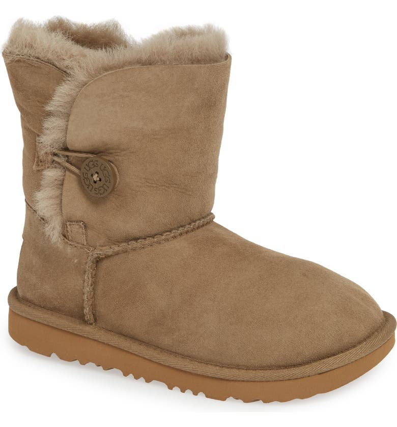 69c06217ceb Bailey Button II Water Resistant Genuine Shearling Boot