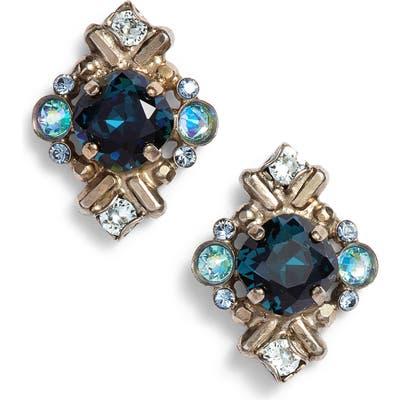 Sorrelli Shielded Crystal Stud Earrings