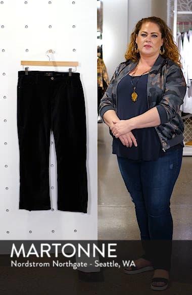 Velvet Crop Flare Pants, sales video thumbnail