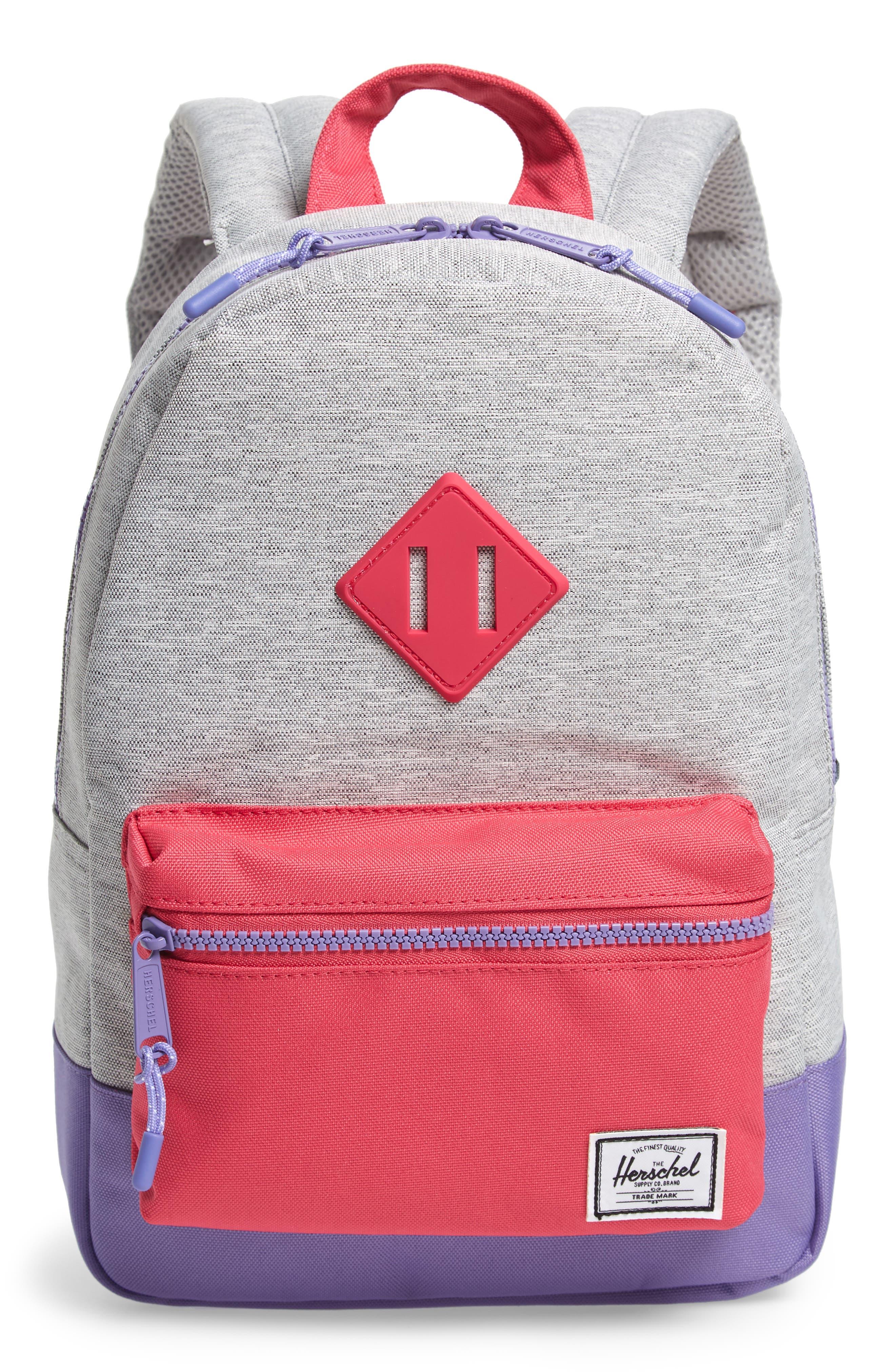 Girls Herschel Supply Co Heritage Backpack  Grey