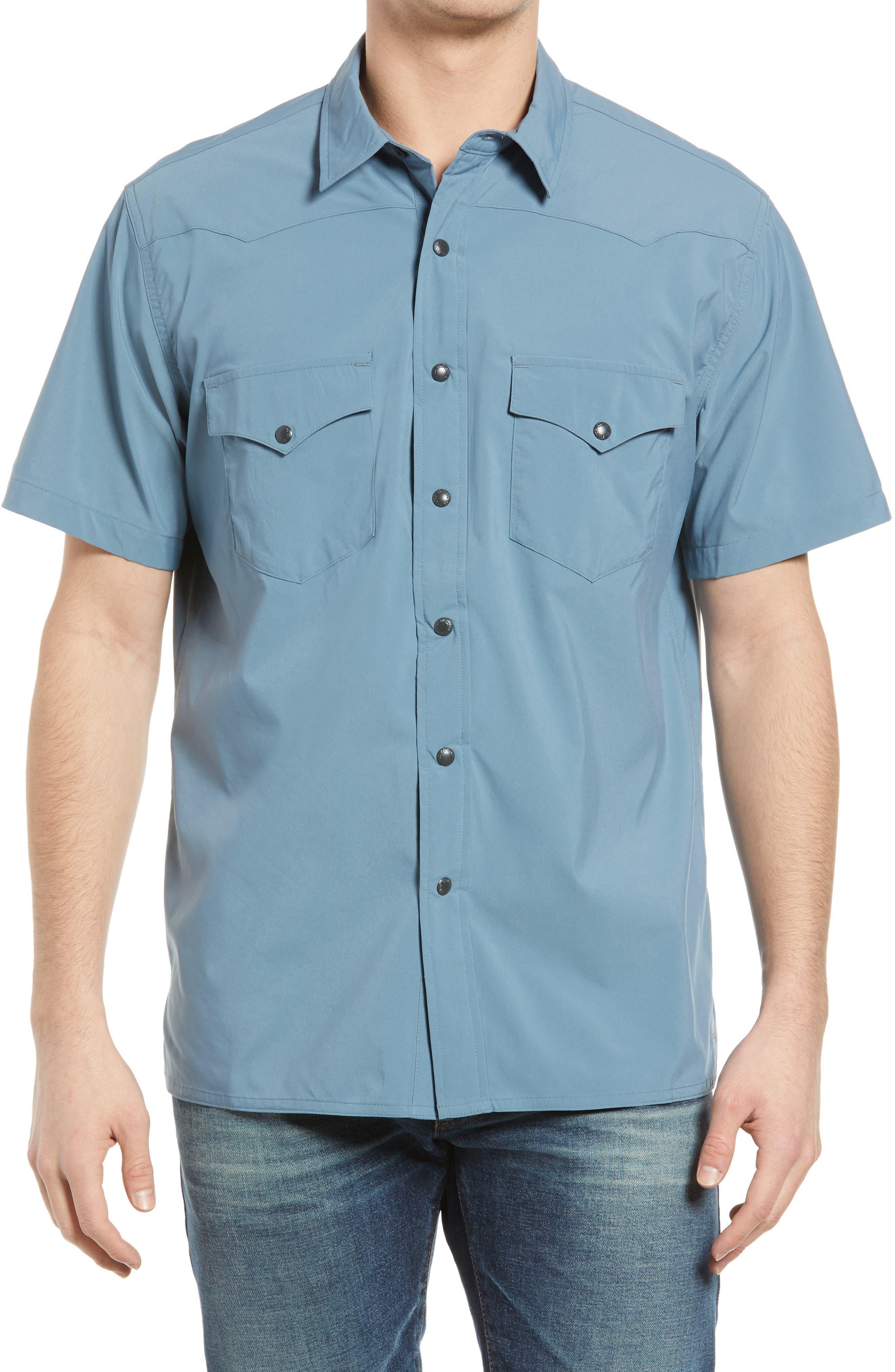 Twin Lakes Short Sleeve Snap Front Shirt