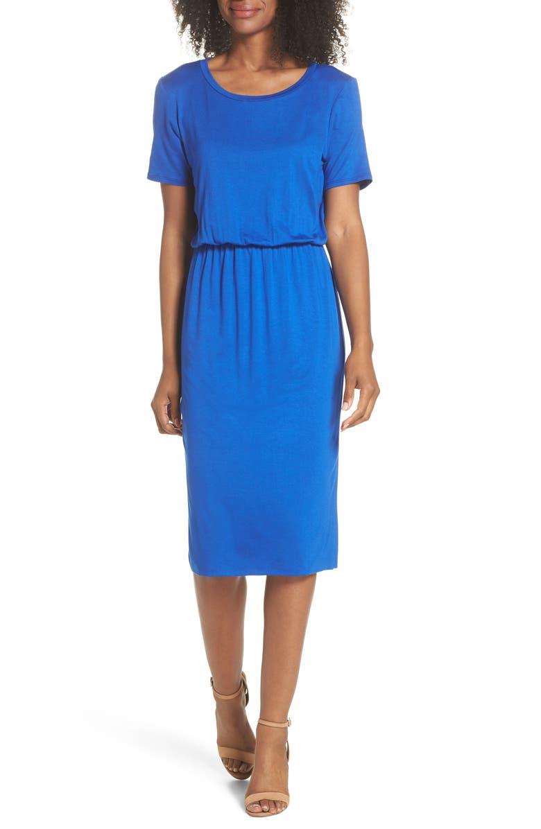 CHARLES HENRY T-Shirt Dress, Main, color, 483