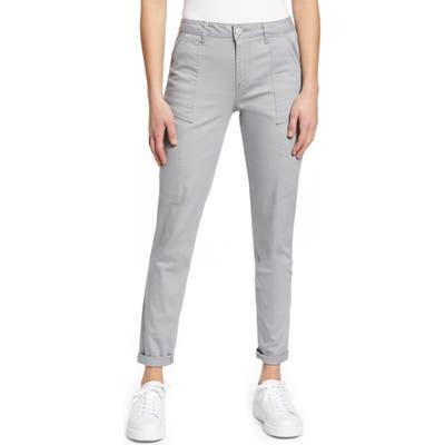 Wit & Wisdom Flex-Ellent High Waist Cargo Pants, Grey (Nordstrom Exclusive)