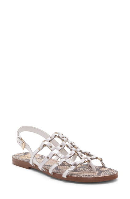 Image of Vince Camuto Richintie Leather Caged Sandal