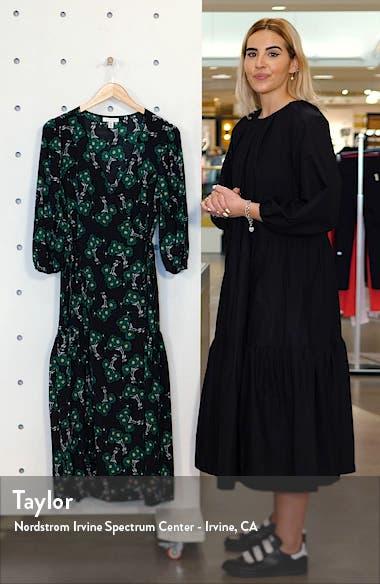 Daisy Wrap Midi Dress, sales video thumbnail