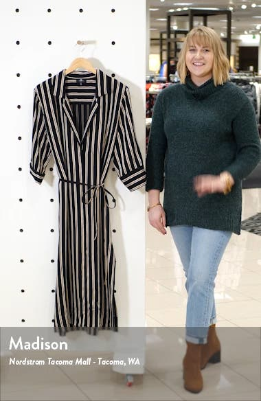 7 For All Mankind Maxi Shirtdress, sales video thumbnail
