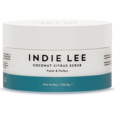 Indie Lee Coconut Citrus Body Scrub, oz