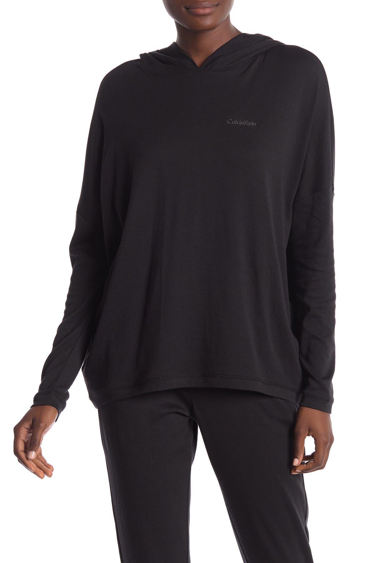 Image of Calvin Klein Solid Dolman Sleeve Hoodie