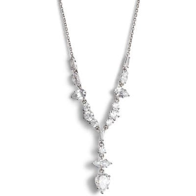 Nadri Mia Cubic Zirconia Y-Necklace