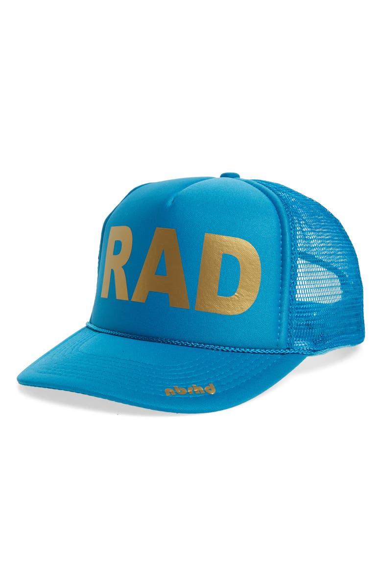 741666fd2fda1 nbrhd Rad Trucker Hat
