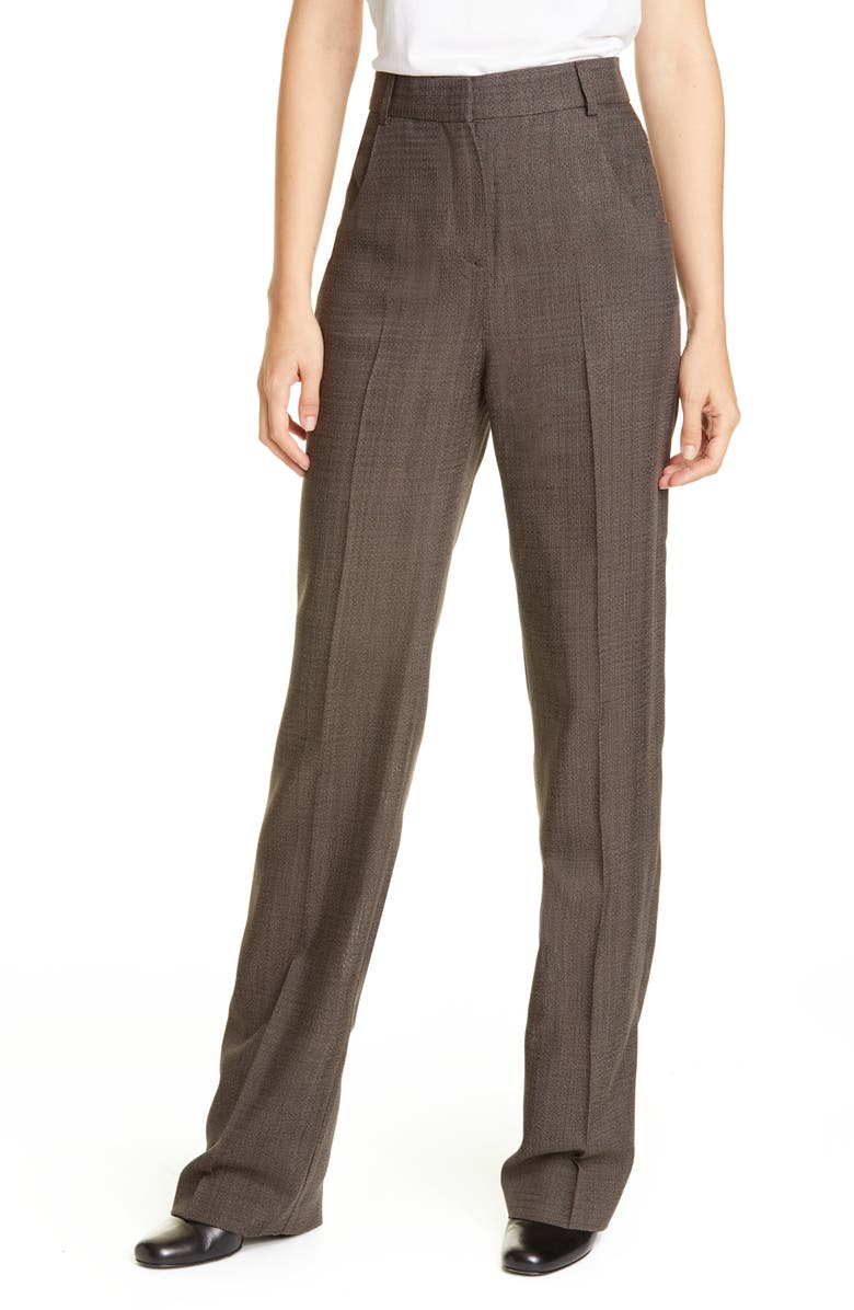 JACQUEMUS Le Pantalon Charles Pants, Main, color, GREY