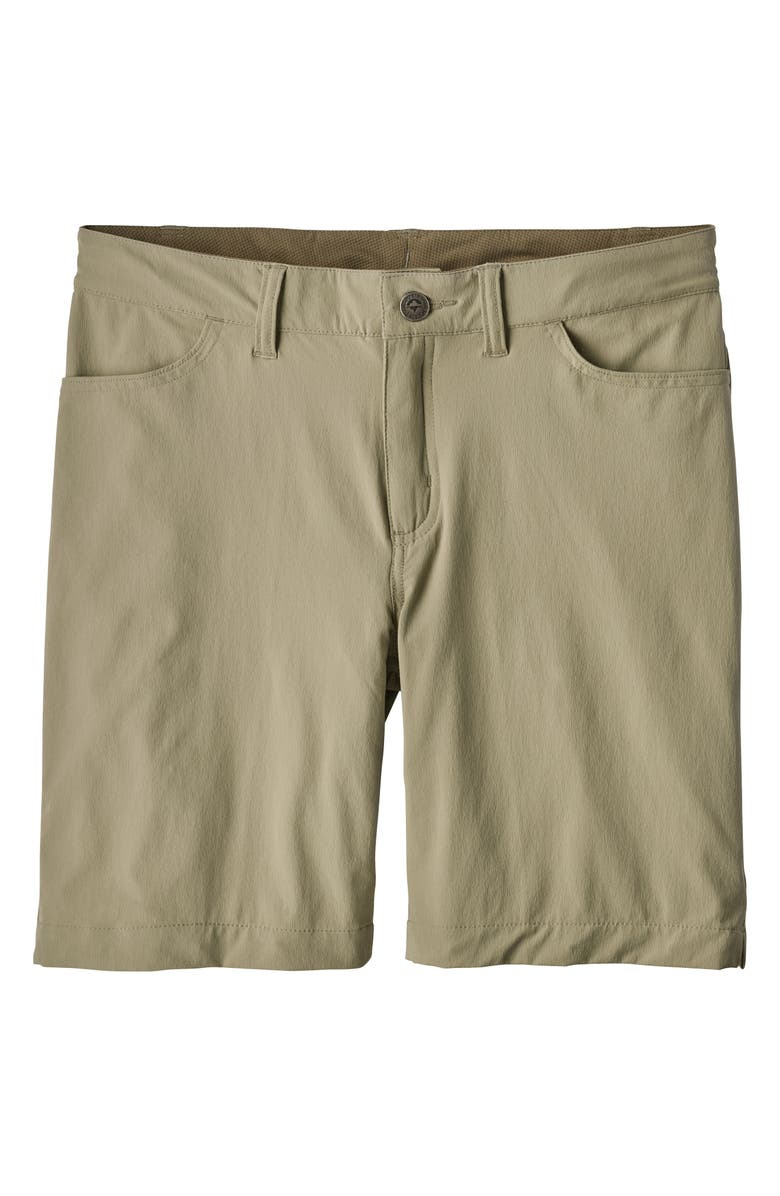 PATAGONIA Skyline Traveler Shorts, Main, color, SHALE