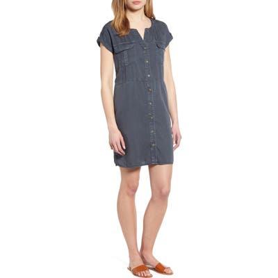 Caslon Utility Dress, Grey