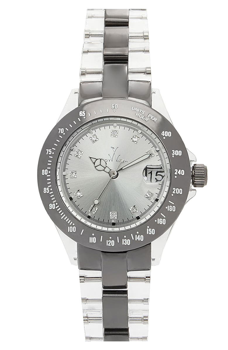 TOYWATCH 'Mini Heavy Metal' Bracelet Watch, Main, color, 040