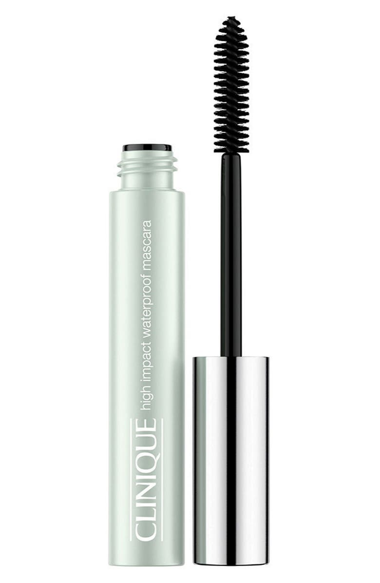 CLINIQUE High Impact Waterproof Mascara, Main, color, BLACK