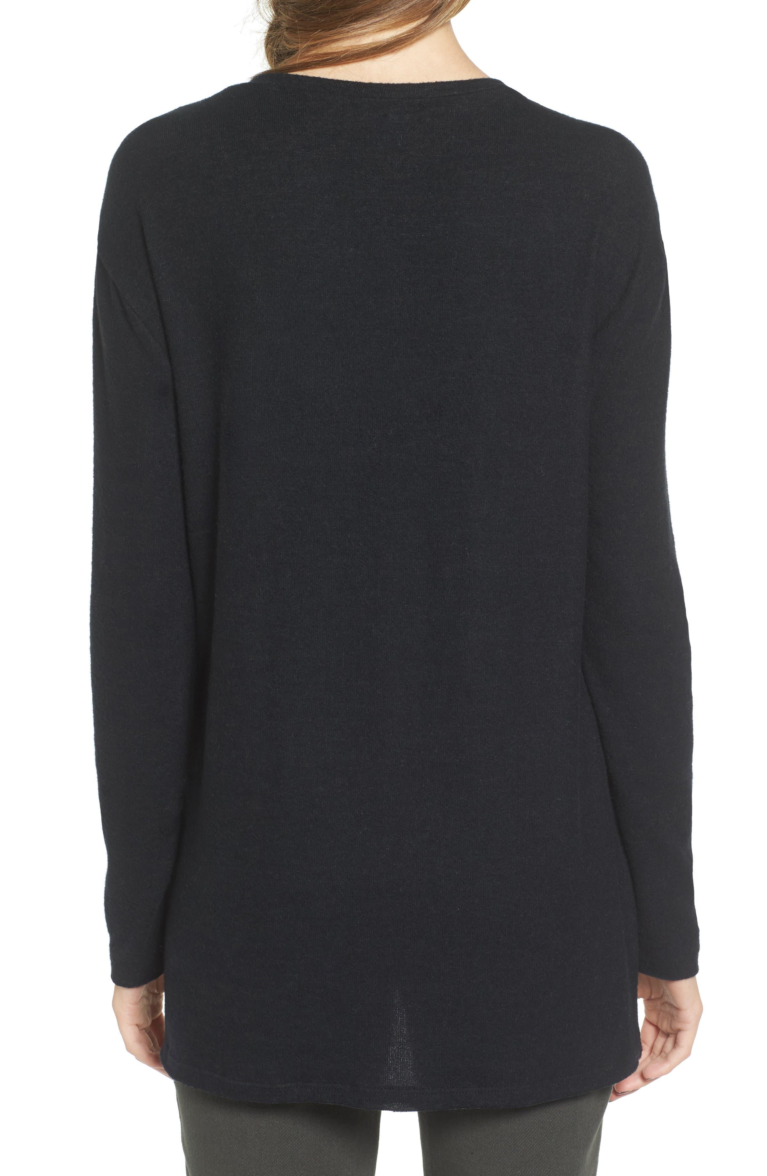 ,                             Cozy V-Neck Sweater,                             Alternate thumbnail 41, color,                             002
