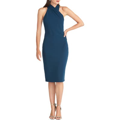 Rachel Rachel Roy Harland Halter Dress, Blue