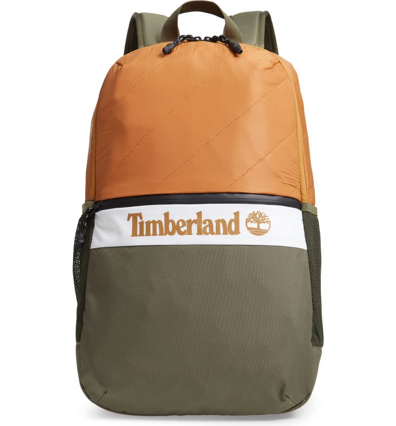 TIMBERLAND Top Zip Backpack, Main, color, WHEAT BOOT