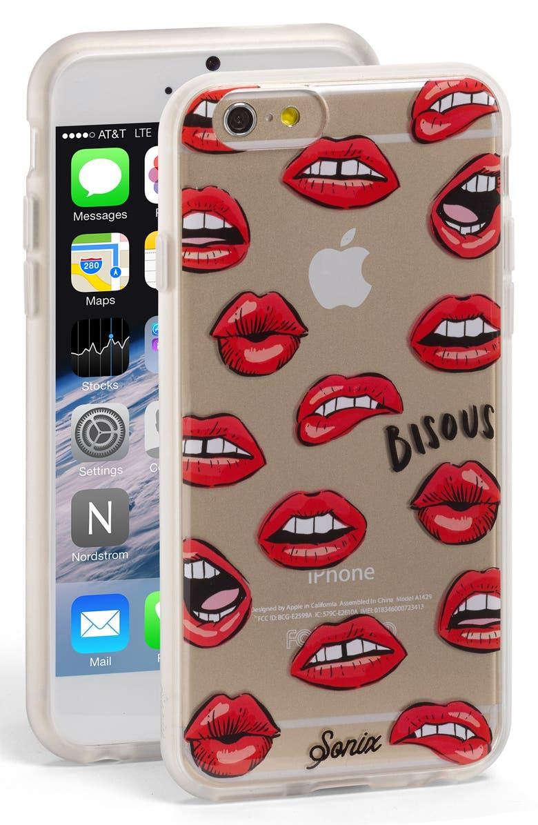 SONIX Bisous iPhone 6/6s Case, Main, color, 600