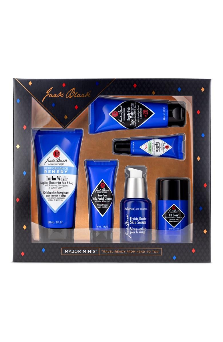JACK BLACK Travel Size Skin Care Bestsellers Set, Main, color, NO COLOR