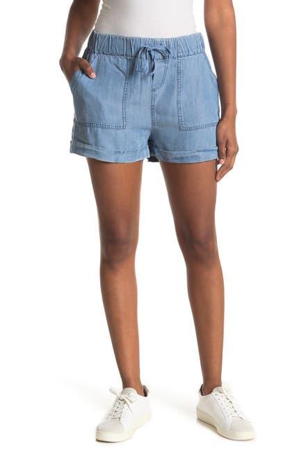 Image of Velvet Heart Lyra Pull-On Denim Shorts