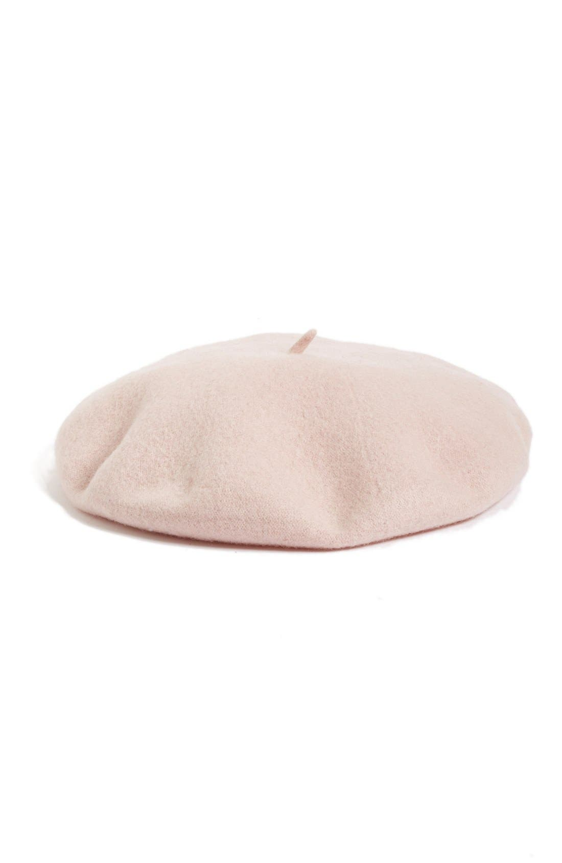,                             Wool Blend Beret,                             Main thumbnail 30, color,                             680