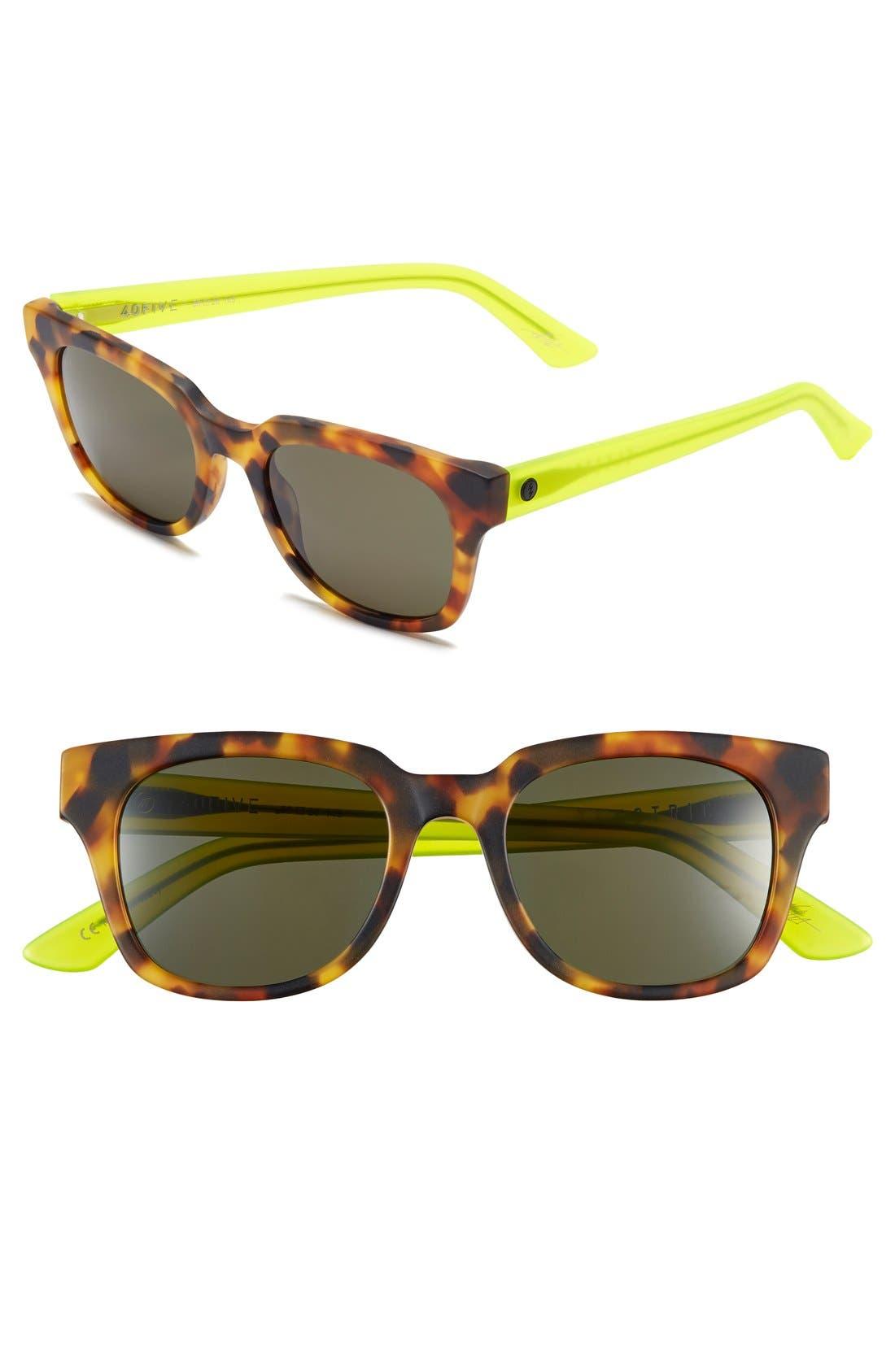 '40FIVE' 50mm Retro Sunglasses, Main, color, 301