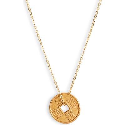 Loren Stewart Secret Coin Pendant Necklace