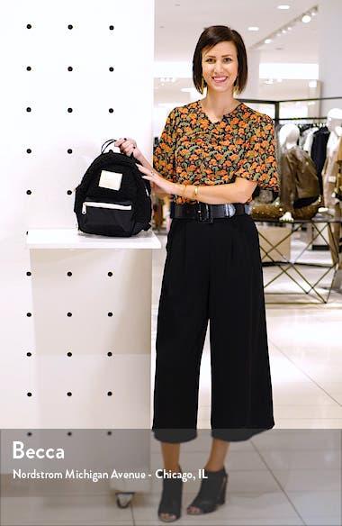 Mini Nova Fleece & Canvas Backpack, sales video thumbnail