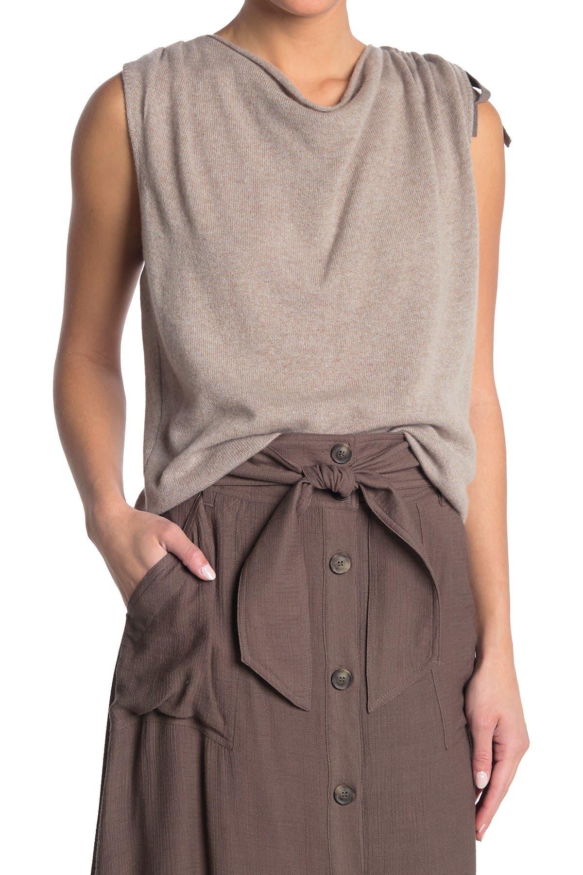Image of Brochu Walker Vos Cashmere Twist Top