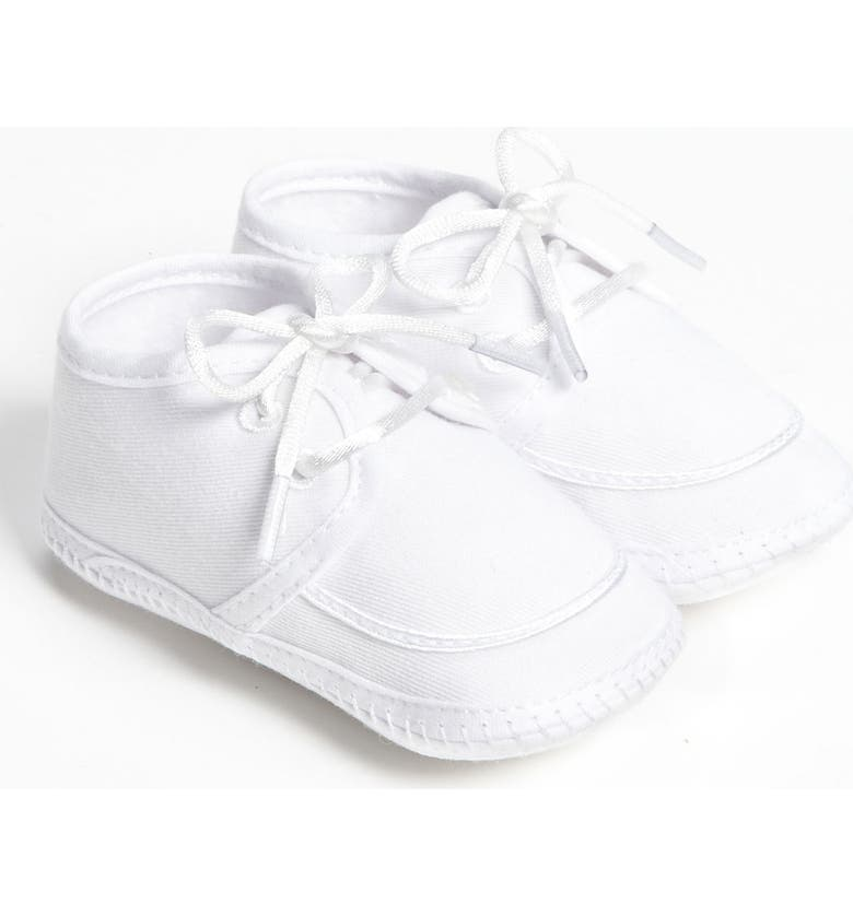 LITTLE THINGS MEAN A LOT Gabardine Shoe, Main, color, WHITE
