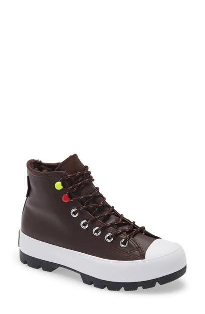 Converse CHUCK TAYLOR ALL STAR GORE-TEX WATERPROOF LUGGED HIGH TOP SNEAKER