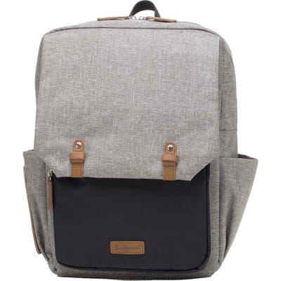 Babymel George Water Resistant Diaper Backpack - Grey