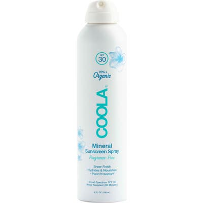 Coola Suncare Mineral Body Organic Sunscreen Spray Spf 30