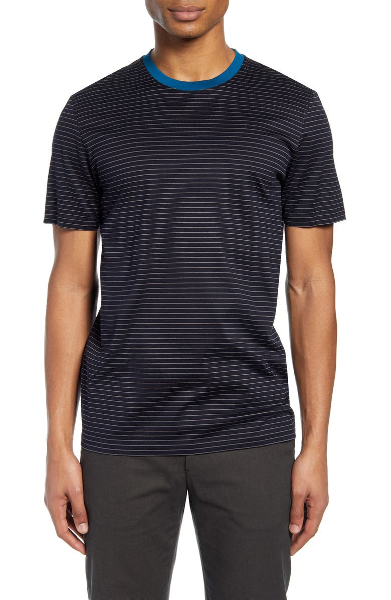 TED BAKER LONDON Dayout Stripe T-Shirt, Main, color, 410