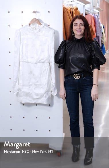 Rina Print Silk Blend Minidress, sales video thumbnail