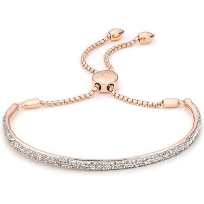 Monica Vinader Fiji Diamond Pave Toggle Petite Bracelet
