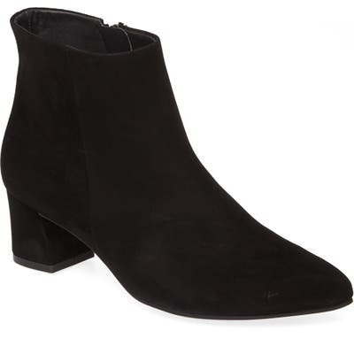 Paul Green Bridget Suede Bootie, US/ 5.5UK - Black