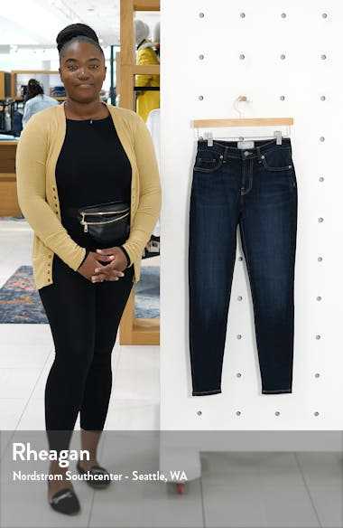 The Authentic Stretch Mid Rise Skinny Jeans, sales video thumbnail